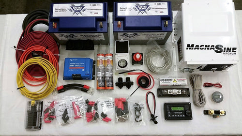 Van Conversion Power Kit with MPPT