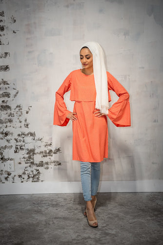 Coral Rose Double Tunic