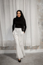 Off-White Wide Leg Pants