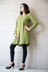 Java Lime Green Tunic