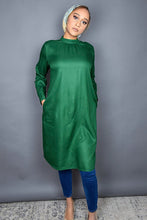 Forest Green High Neck Tunic