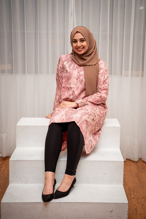 Pink Camouflage Tunic
