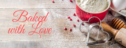 Baked with love | Dog Treats |Valentine's Day