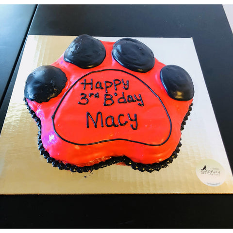 Custom Dog Cake | Dog Treats | Dog Bakery Dallas | Paw