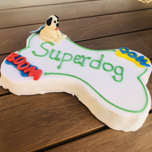 Custom Dog Cake | Dog Treats | Dog Bakery Dallas | Superdog