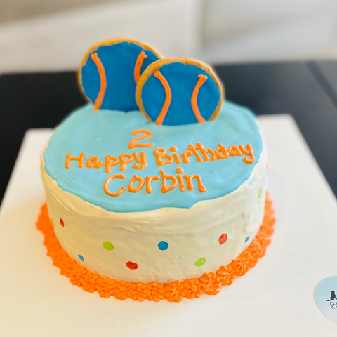 Dog Cake | Fetch | Dallas Cakes