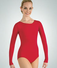 Child Long Sleeve Leotard 0109