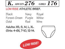 Low Rise Athletic Brief 176/276