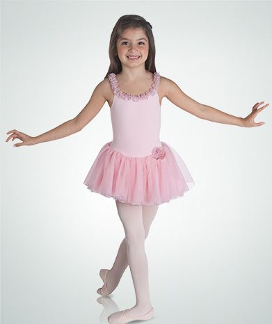 Child Skirted Leotard