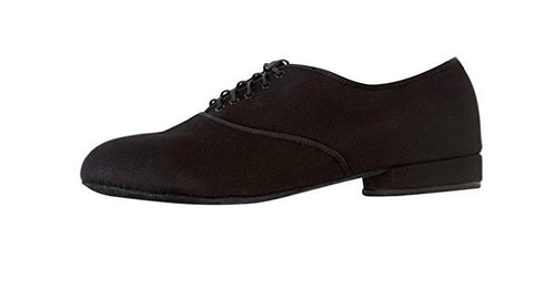 Angelo Luzio Mens Max Total STRETCH Canvas Lace-Up Ballroom Shoe