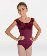 Body Wrapper Cap Sleeve Leotard P671