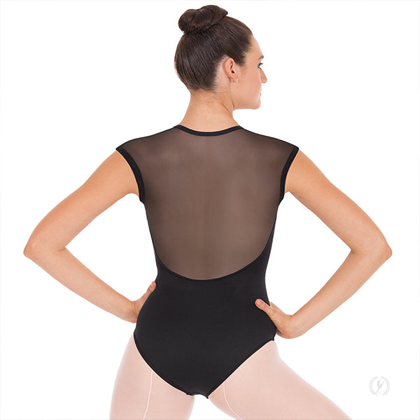 Womens Mesh Back Leotard