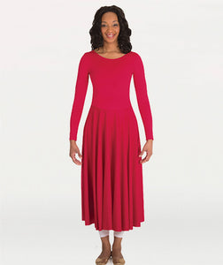 Adult Long Sleeve Fire Dress