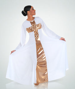 Adult Praise Cross Long Dress