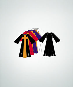 Child Praise Cross Long Dress