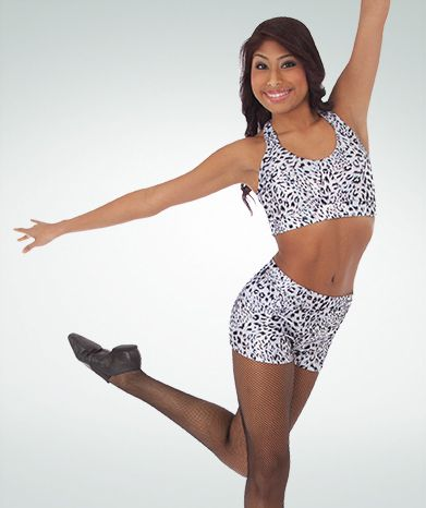 Sparkle Cheetah Hot Shorts 7306