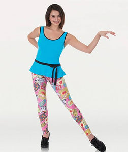 Adult Pin-up Print Legging