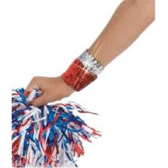 Body wrappers Sequin Elastic Wristband 7368
