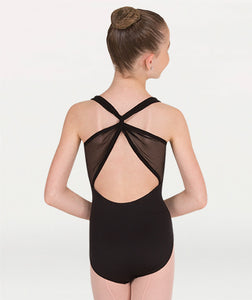 Sweetheart Mesh Accent Leotard