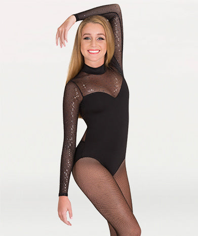 Child Sweetheart Neckline Leotard