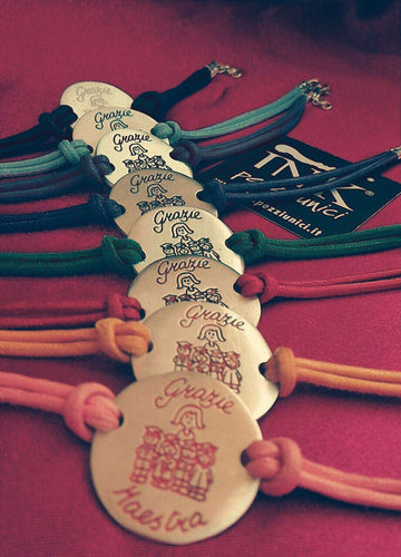 INK Loves Teachers BRACCIALE CON CORDINO