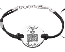 "INK Loves Teachers BRACCIALE CON CORDINO ""Grazie Maestra""  INKlab"