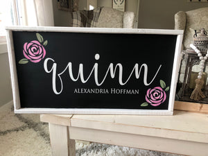 Nursery Name Signs Wood Signs Baby Shower Gifts Little