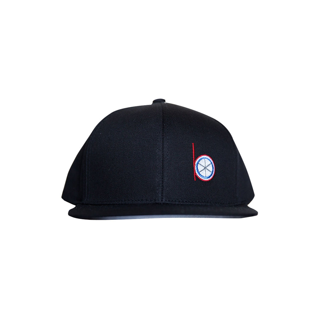 Level Wear Snap Back hat - Black