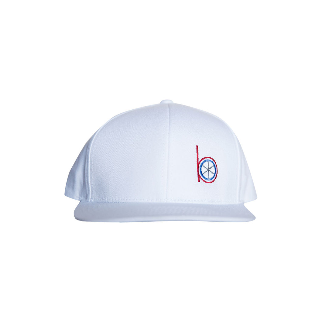 Level Wear Snap Back hat - White