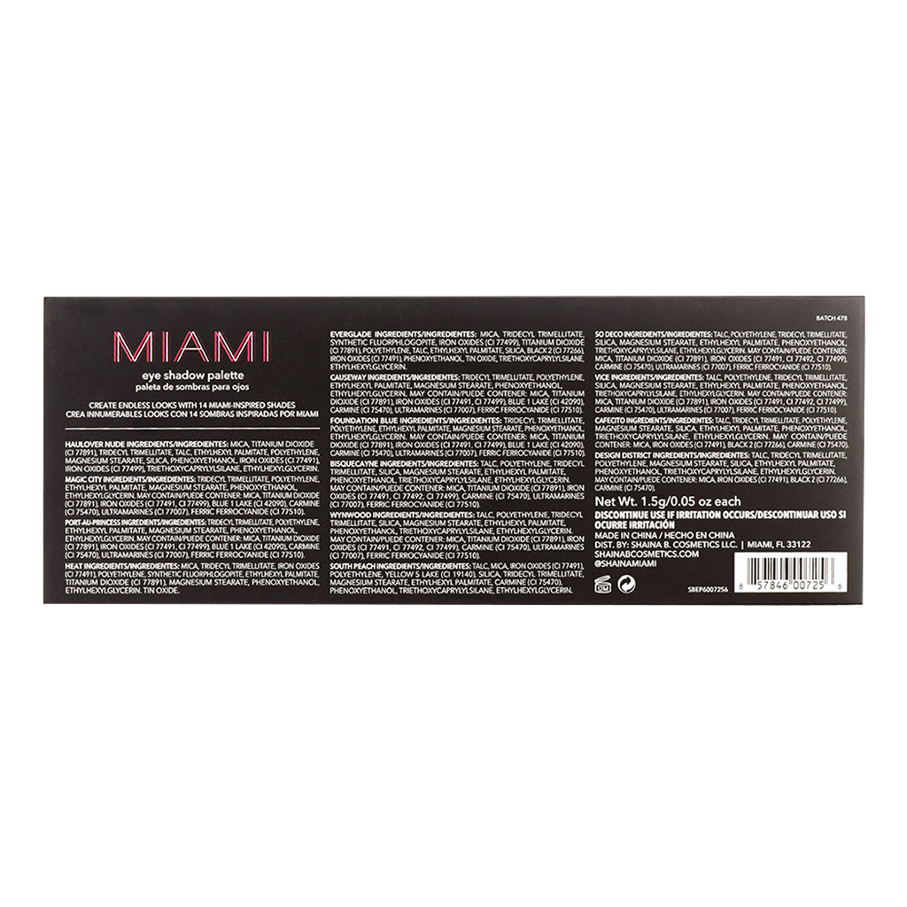 Miami Eye Shadow Palette
