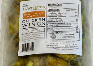Curry Peppercorn Wings - 800g Pack