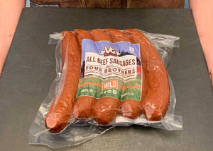 5 piece Mild Smoked Beef Sausage - 113g per pcs (570 grams per package)