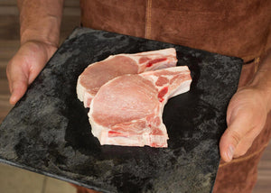 2 piece Pork Rib Chops - 9oz per pcs (510 grams per package)
