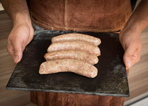 6 piece Gluten Free Pork Sausage - 4oz per pcs (678 grams per package)