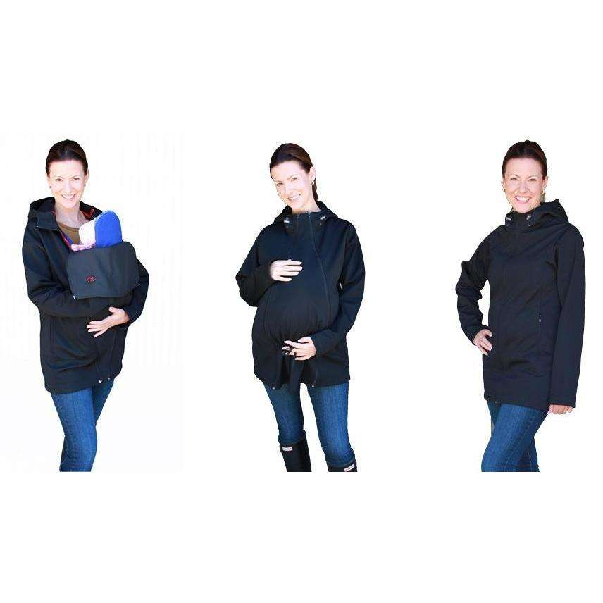 M Shell Maternity Babywearing Coat