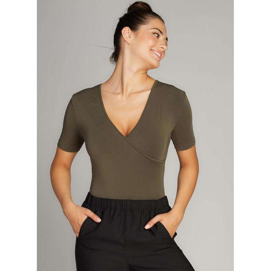C'est Moi Bamboo Wrap Nursing Friendly Bodysuit