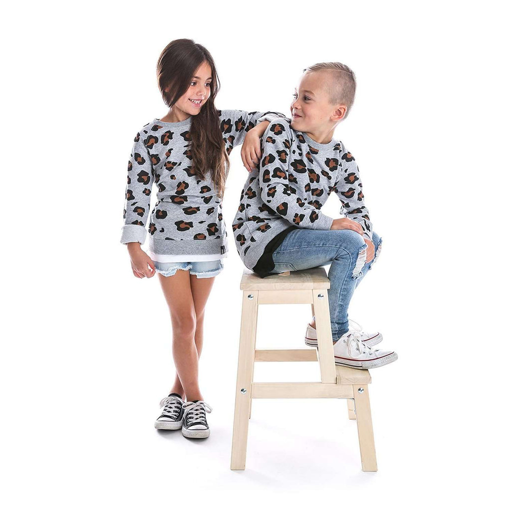 Beau Hudson Leopard Pullover for Kids