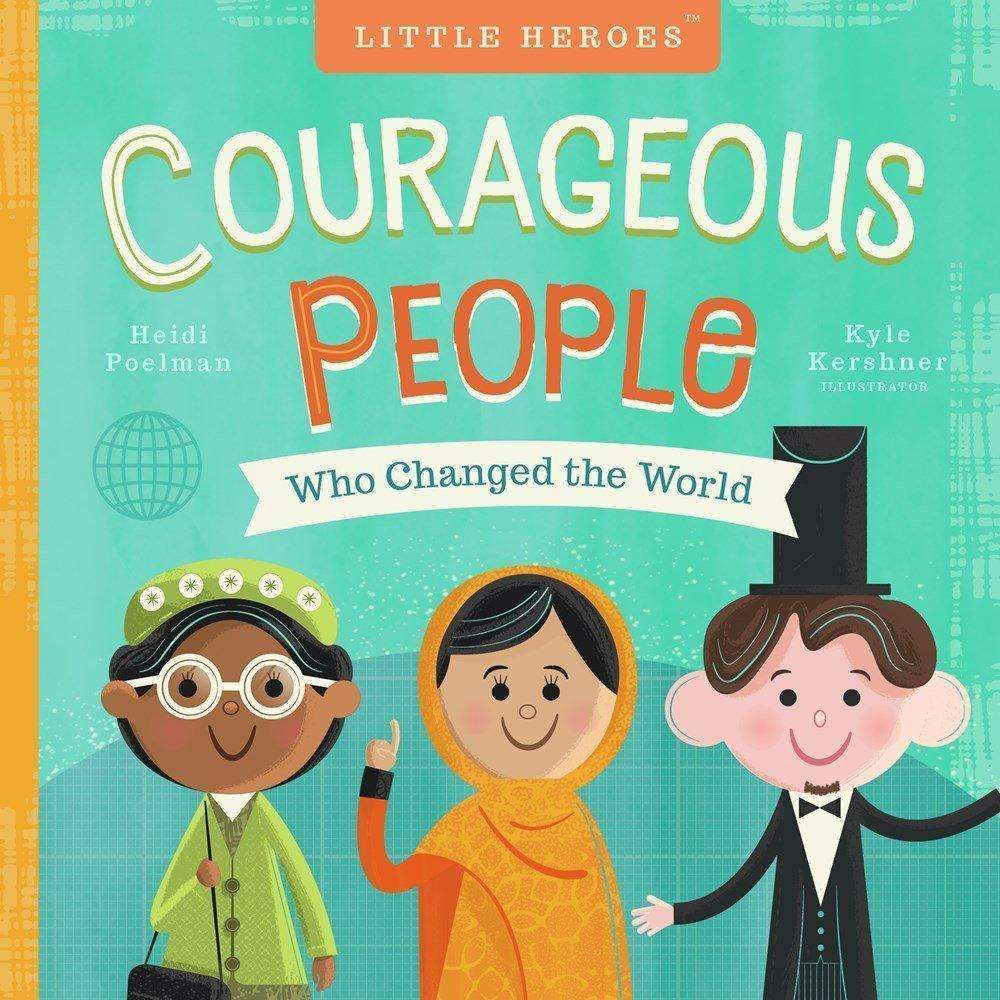 Courageous People Board Book