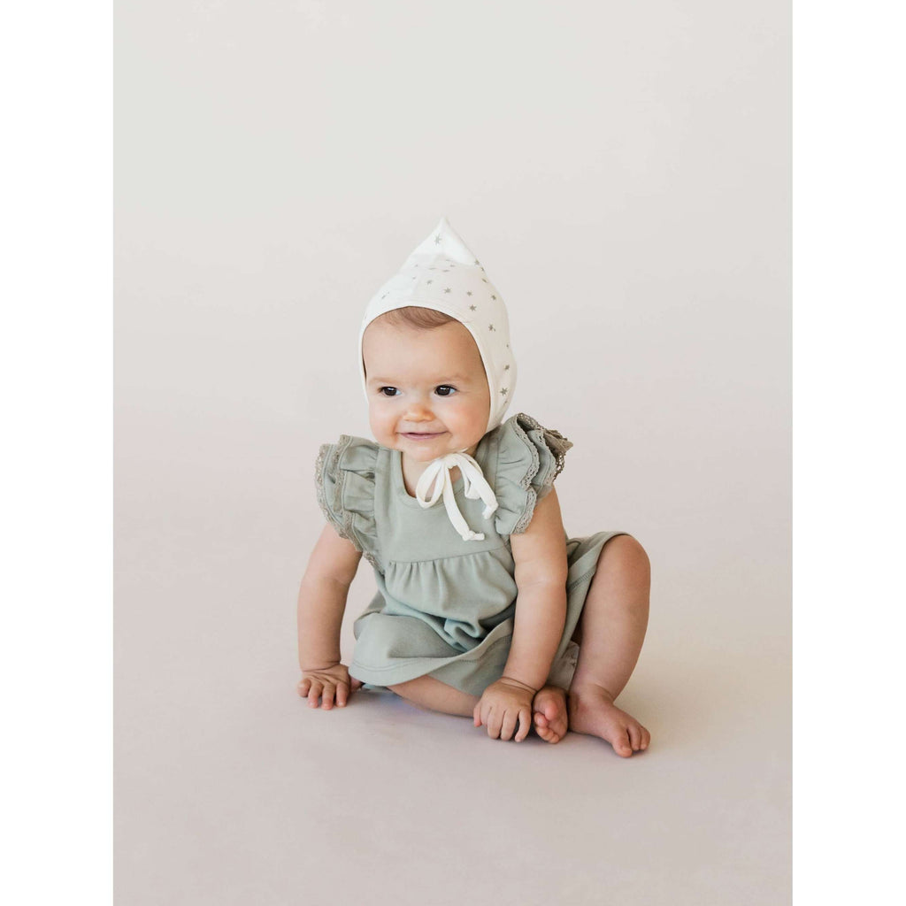 Quincy Mae Flutter Dress and Bloomers