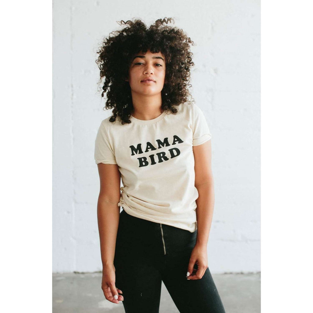 The Bee and The Fox Mama Bird Tee