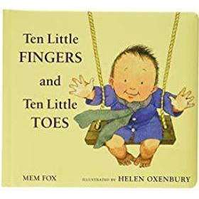 Ten Little Fingers and Ten Little Toes Boardbook