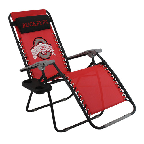 Zero Gravity Chair Ohio State Buckeyes College Covers Lounge Patio Furniture