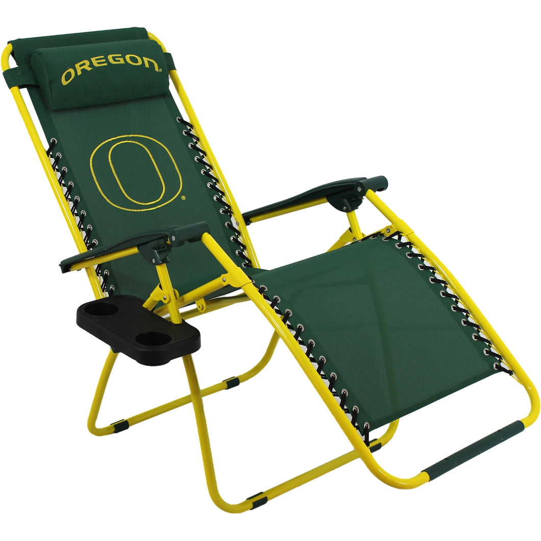 Oregon Ducks Football Zero Gravity Chair College Sports Lounge Patio Lawn Furniture Home - FruitPaunch Gifts