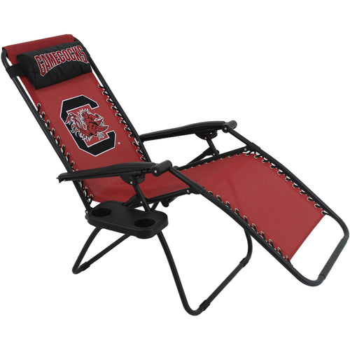 South Carolina Gamecocks Football Zero Gravity Chair College Covers Lounge Patio Home
