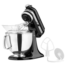 KitchenAid Mixer KSM150PS Artisan 5-qt.Stand Kitchen 10 Speeds Pour Shield Dishwasher Safe Home - FruitPaunch Gifts