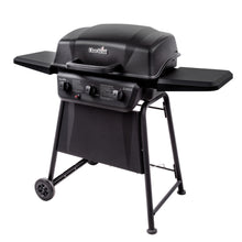 Gas Grill BBQ Barbecue Char Broil Classic 3-burner Outdoor Non-Stick  Porcelain Wheels