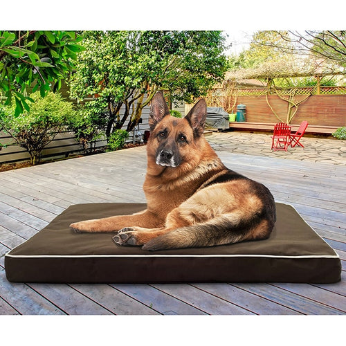 Dog Bed Water-Resistant Deluxe Indoor/ Outdoor Orthopedic Pets Washable Cover FurHaven