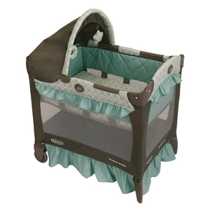 Baby Crib Bassinet Canopy Portable Play Yard  Graco Travel Lite Crib Winslet