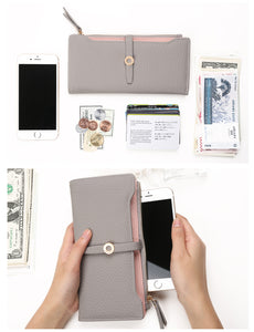 Top Quality Latest Lovely Leather Long Women Wallet Fashion Girls | Gorgeous Colors, Very Spacious Purses For Girls & Women