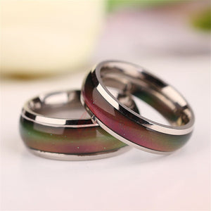 Changing Color Adjustable Mood Ring -Wedding/Fashion Rings for Men and Women -Creative Hobby for Children & Couple Rings